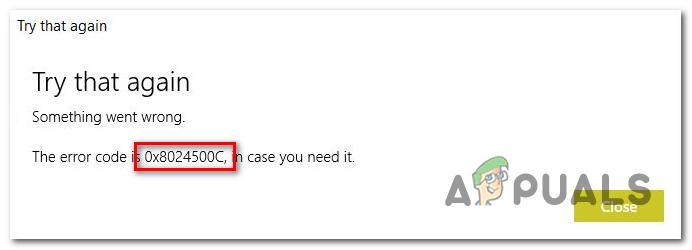 Исправить ошибку 0x8024500c при установке обновлений Windows