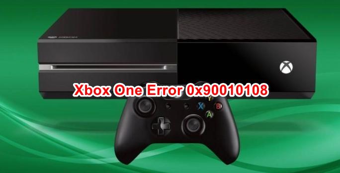 Разрешить код ошибки 0x90010108 на Xbox One