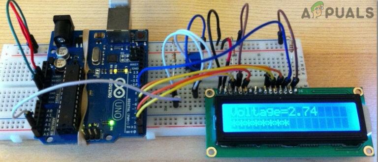 Как сделать цифровой вольтметр постоянного тока с помощью Arduino?