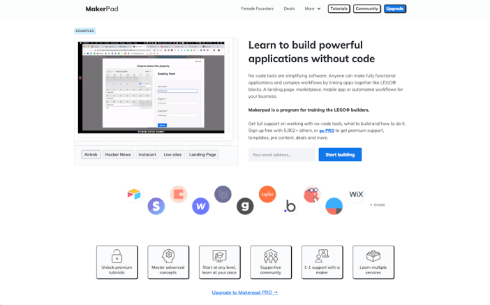 Использование Makerpad: для автоматизации вашей работы без программирования