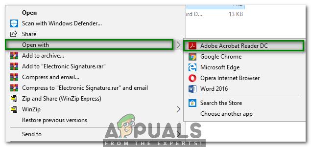 Как электронно подписать PDF документы