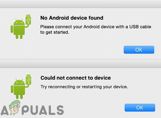 Передача файлов Android не работает на MacOS (Fix)