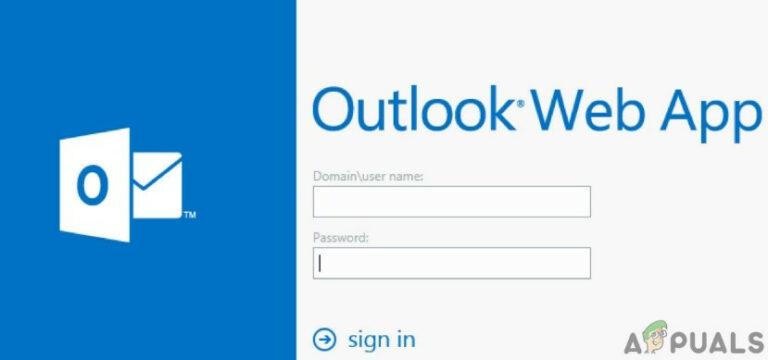 Outlook WebApp не будет загружать вложения
