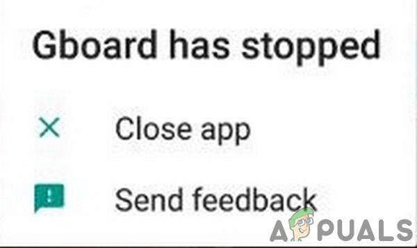 Исправлено: Gboard не работает — Appuals.com