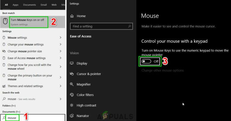Предотвращение перемещения курсора при нажатии клавиш направления Windows 10