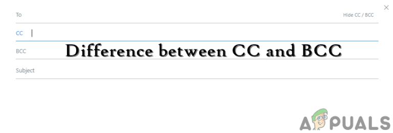 В чем разница между CC и BCC в электронной почте?