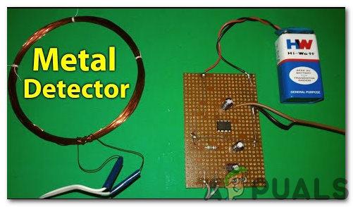 Как сделать схему детектора металла?
