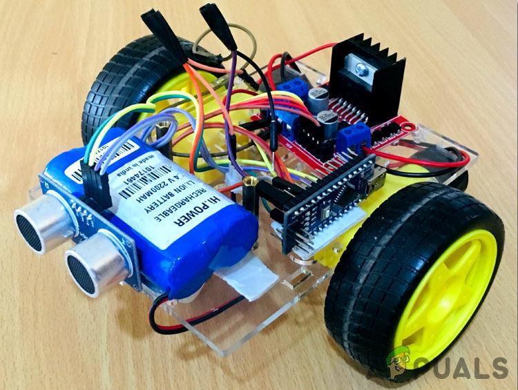Как сделать препятствие избегая робота с помощью Arduino?