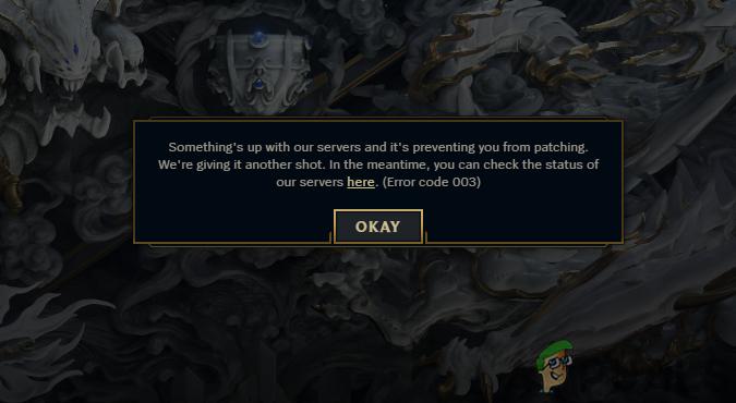 League of Legends не будет играть из-за ошибок сервера? Используйте эти исправления