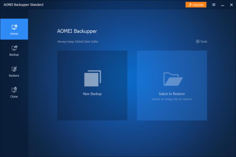 Как клонировать диск с помощью AOEMI Backupper