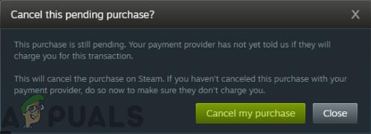 Как исправить ошибку Steam в ожидании транзакции?