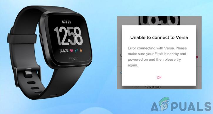 Исправлено: Fitbit не синхронизируется — Appuals.com