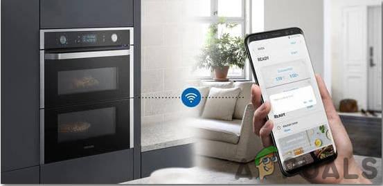 Управление печью со смартфона с помощью WiFi