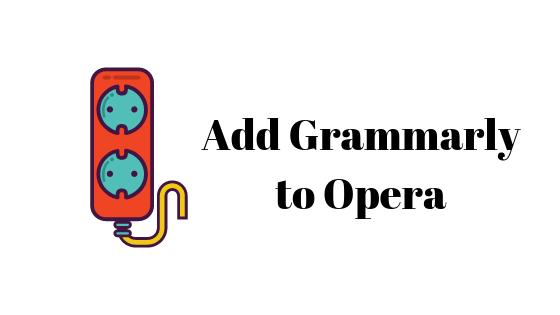 Как добавить грамматику в оперу