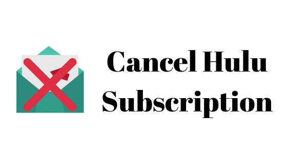 Как отменить подписку или отменить подписку Hulu