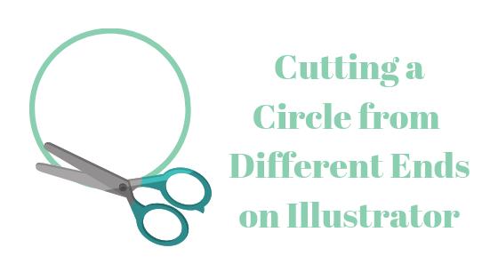 Как вырезать круг по-разному в Illustrator