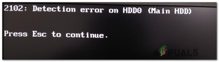 Как исправить ошибку Lenovo 'Ошибка обнаружения на HDD0 (основной жесткий диск)'