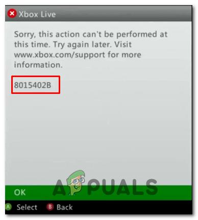 Как исправить ошибку Xbox Live 8015402B?