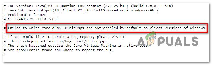 Как исправить ошибку Minecraft «Не удалось записать дамп ядра» в Windows 10