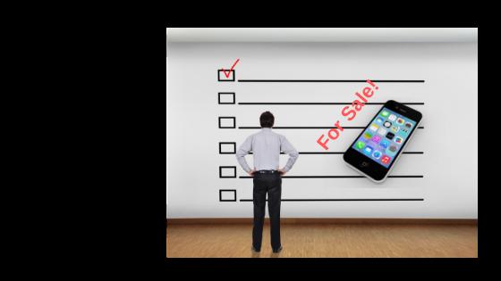 Что делать перед продажей iPhone?