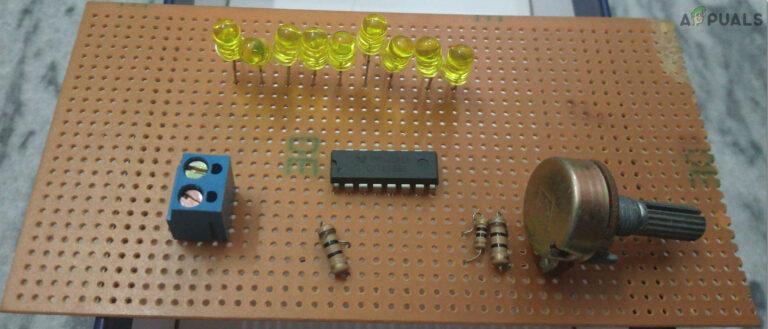 Как спроектировать цепь индикатора уровня заряда батареи?