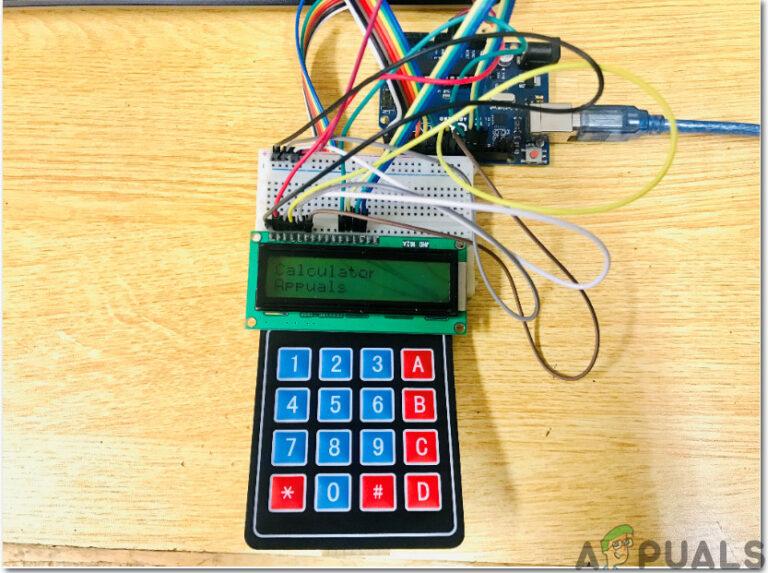 Как сделать калькулятор на основе Arduino?