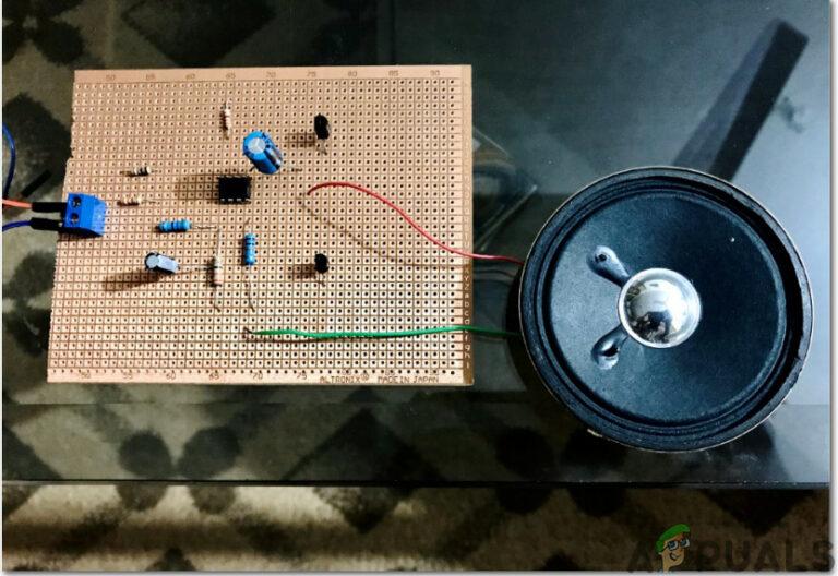 Как сделать схему усилителя звука?