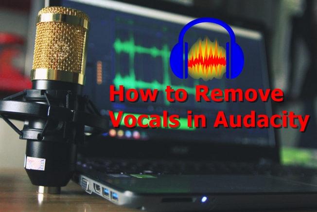 Как убрать вокал в Audacity?