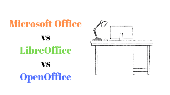 LibraOffice против OpenOffice против Microsoft Office