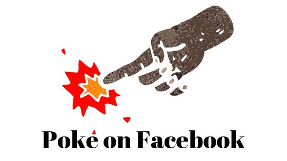 Что означают Pokes в Facebook