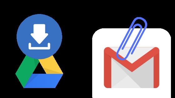 Сохранение вложений Gmail на Google Диске