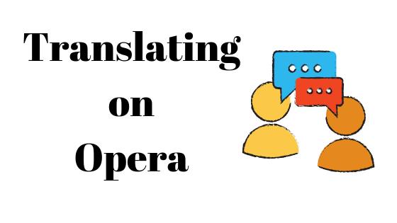 Как перевести браузер Opera