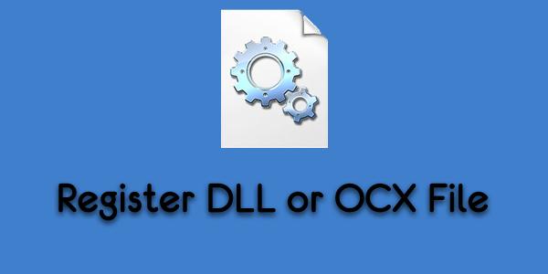 Как зарегистрировать DLL или OCX файлы в Windows 10 через командную строку