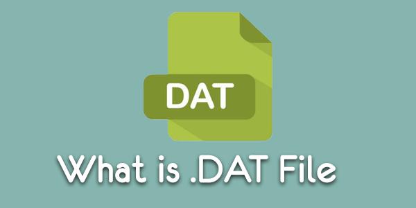 Что такое файл .DAT и как его открыть в Windows?