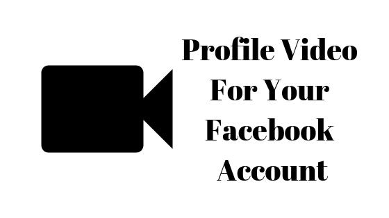 Как сделать видео профиля на Facebook