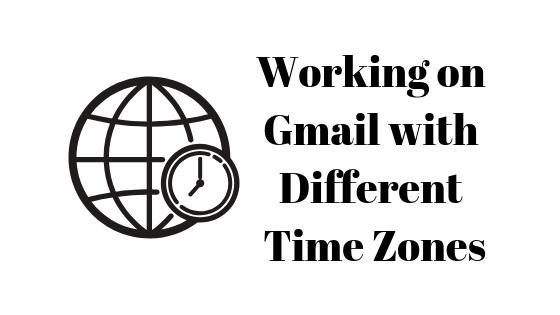 Как изменить часовой пояс в Gmail