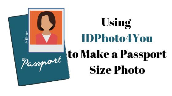 Как сделать фотографию паспортного размера с помощью IDPhoto4You