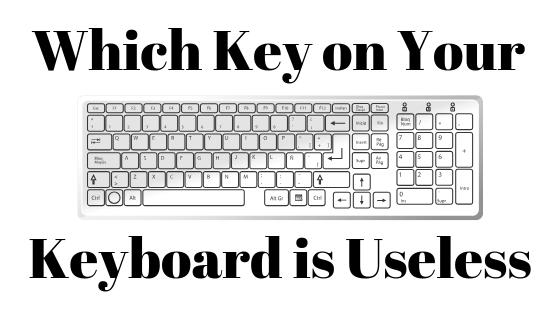 Есть ли какая-нибудь клавиша на клавиатуре, которая бесполезна