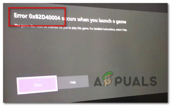 Как исправить ошибку Xbox One с кодом 0x82d40004?