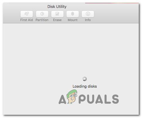Исправлено: Дисковая утилита не загружается на MacOS
