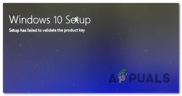 Устранение неполадок при установке Windows 10 не удалось проверить ключ продукта