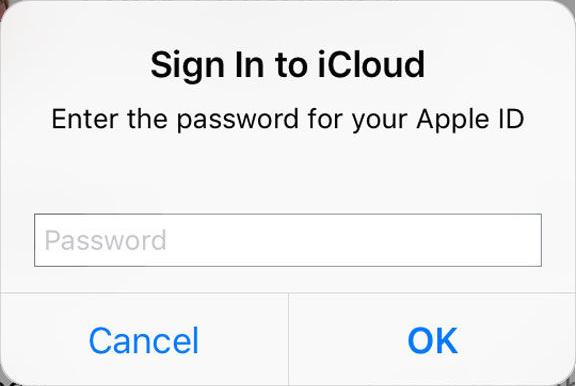 Если ваш iPhone постоянно просит вас войти в iCloud