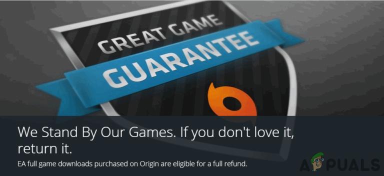 Как получить возврат на игры Origin?