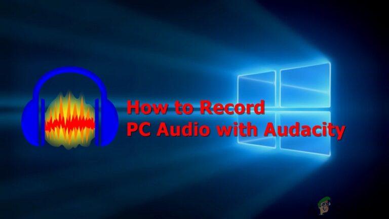Как записать звук с вашего ПК с Audacity