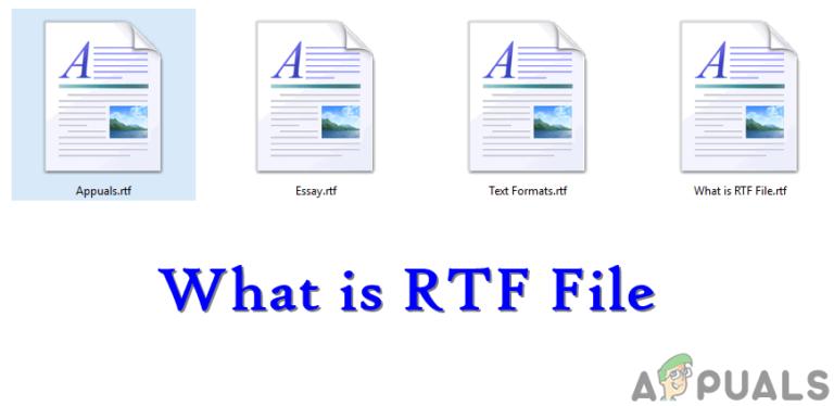 Что такое файл RTF (.rtf) и чем он отличается от других текстовых форматов?