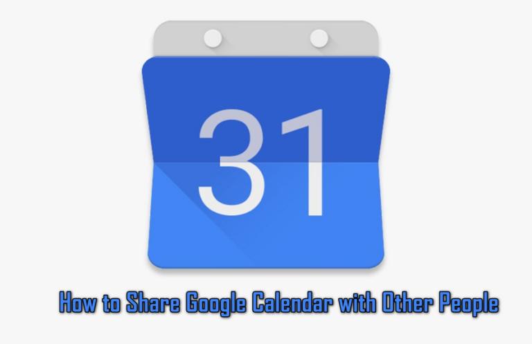 Как поделиться Календарем Google с другими людьми?