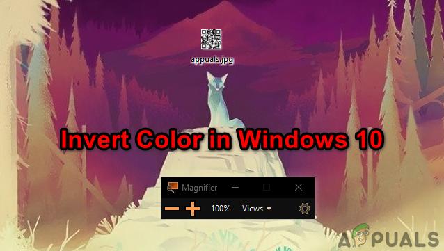 Инвертирование цветов в Windows 10 с использованием цветовых фильтров и приложения для увеличения