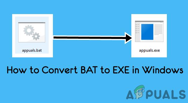 Преобразование командных файлов .BAT в исполняемые файлы .EXE