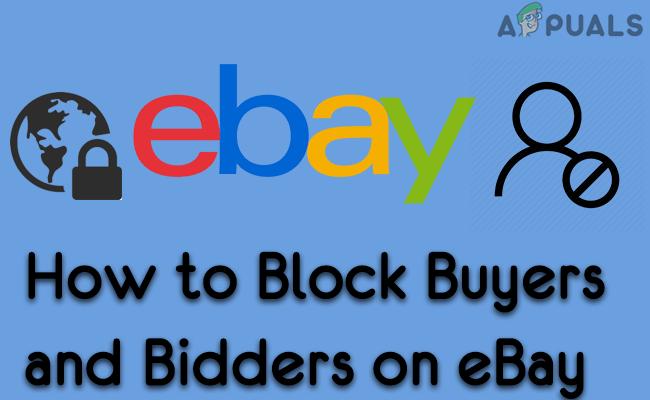 Как заблокировать покупателей и участников торгов на eBay?