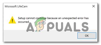 Исправлено: Lifecam.exe не удается инициализировать «невозможно продолжить»